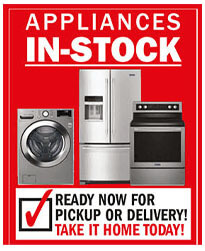 Appliances in Stock
